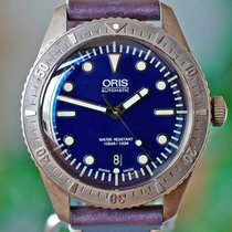 Oris公司拥有全自动21mm蓝宝石晶体10 ATM