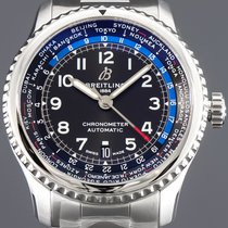 Breitling Aviator 8 Stål 43mm Sort Arabertal