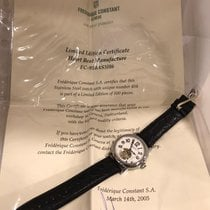 Frederique Constant Manufacture Heart Beat Steel 39mm White Arabic numerals