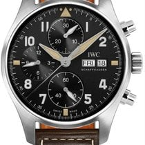 IWC Pilot Spitfire Chronograph new 2021 Automatic Chronograph Watch with original box iw387903