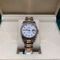 Rolex 116231 Guld/Stål Datejust 36mm brugt