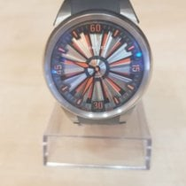 Perrelet Turbine (submodel) pre-owned 44mm Silver Rubber