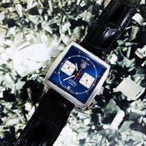 TAG Heuer Monaco Calibre 12 Acier 39mm Bleu Sans chiffres France, Marseille