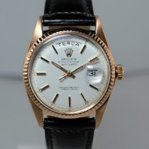 Rolex Day-Date 36 pre-owned 36mm Champagne Date Leather