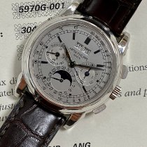 Patek Philippe 5970G-001 White gold 2006 Perpetual Calendar Chronograph 40mm pre-owned