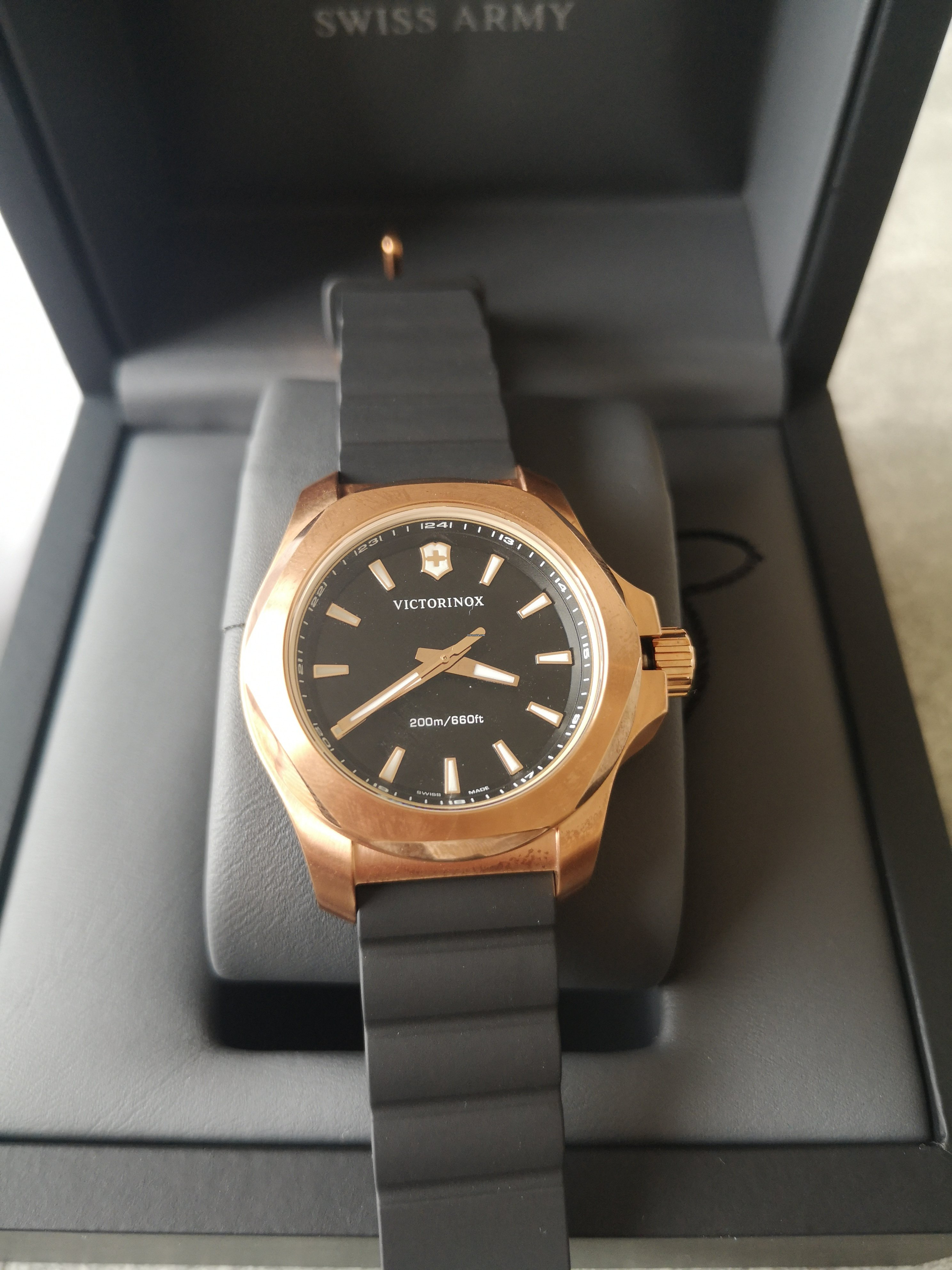 Image result for Victorinox I.N.O.X. gold