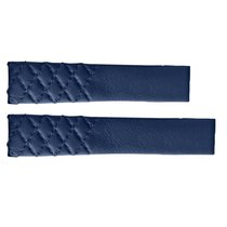 TAG Heuer Parts/Accessories tag-heuer-blue-strap-fc6391 new Leather Blue Carrera