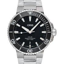 Oris Steel 43.5mm Automatic 01 733 7730 4124-07 8 24 05EB new