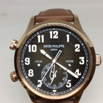 Patek Philippe Travel Time Or rose 42mm Brun Arabes