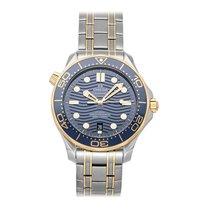 Omega Seamaster Diver 300 M occasion 42mm Bleu Date Plis