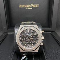 Audemars Piguet Royal Oak Chronograph Сталь 41mm Чёрный Без цифр