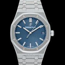 Audemars Piguet Royal Oak Steel 41mm Blue United States of America, California, Burlingame
