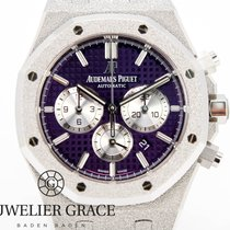 Audemars Piguet Or blanc Remontage automatique nouveau Royal Oak Chronograph