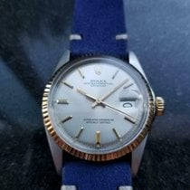 Rolex Oyster Perpetual Date Gold/Steel 36mm Silver United States of America, California, Beverly Hills