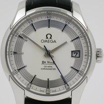 Omega De Ville Hour Vision Stål 41mm Sølv Ingen tall