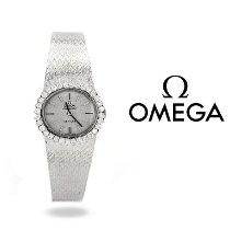 Omega De Ville Ladymatic Or blanc