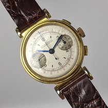 Hentschel Hamburg pre-owned Manual winding 34,5mm White Plexiglass Not water resistant