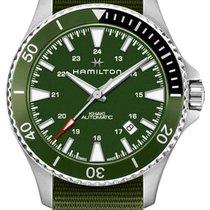 Hamilton Khaki Navy Scuba Acier 40mm Vert
