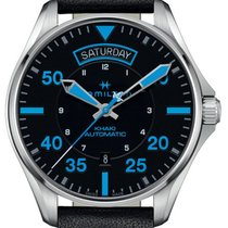 Hamilton Khaki Aviation Steel 42mm Black