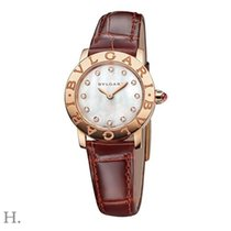 Bulgari Bulgari Or rose 26mm Nacre