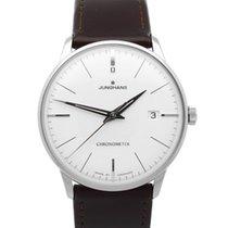 Junghans Stål Automatisk Sølv 38.4mm ny Meister Chronometer