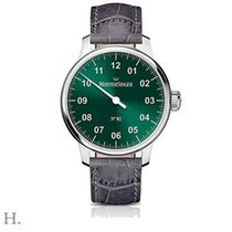 Meistersinger Acciaio 43mm Manuale AM6609N nuovo