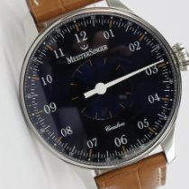 Meistersinger pre-owned Manual winding 43mm Blue Sapphire crystal
