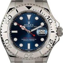 Rolex Acero Automático Azul Sin cifras 40mm usados Yacht-Master 40