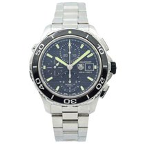 TAG Heuer pre-owned Automatic 43mm Black Sapphire crystal 50 ATM