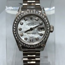 Rolex Lady-Datejust White gold 26mm Mother of pearl No numerals United States of America, New York, New York