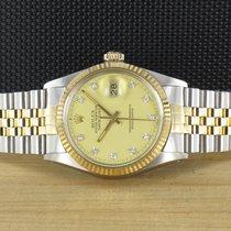 Rolex Datejust Gold/Stahl 36mm Gold Deutschland, Prüm