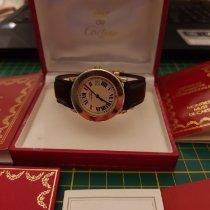 Cartier Ronde Solo de Cartier 1800 1 Satisfăcătoare Argint 33mm Cuart