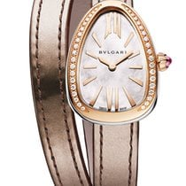 Bulgari Serpenti Rose gold 32mm Mother of pearl