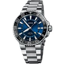 Oris Aquis GMT Date 01 798 7754 4135-07 8 24 05PEB new