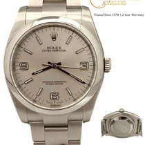 Rolex Oyster Perpetual 36 Staal 36mm Zilver