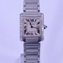 Cartier Tank Française Steel 28mm White Roman numerals United States of America, California, Beverly Hills