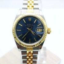 Rolex Lady-Datejust Gold/Stahl 26mm Blau Keine Ziffern Deutschland, Köln