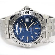 Breitling Galactic 44 Steel 43mm Blue