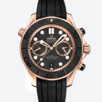 Omega 210.62.44.51.01.001 Red gold 2020 Seamaster Diver 300 M 44mm new