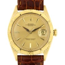 Rolex Yellow gold Automatic Gold 36mm pre-owned Datejust Turn-O-Graph