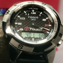 Tissot Titanium Quartz Black 42mm pre-owned Touch