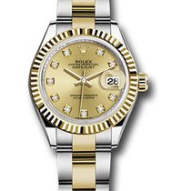 Rolex Lady-Datejust Gold/Steel 28mm Champagne United States of America, New York, NY