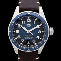 TAG Heuer Autavia Steel 42mm Blue United States of America, California, Burlingame
