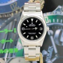 Rolex Explorer Stahl 36mm Schwarz Arabisch Deutschland, Hamburg