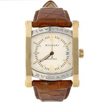 Bulgari Assioma Gold/Steel 34mm White Arabic numerals