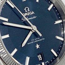 Omega Globemaster Stahl 39mm Blau Keine Ziffern Österreich, vienna
