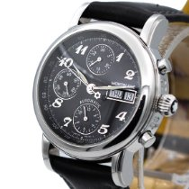 Montblanc Star Steel 38mm Black Arabic numerals United States of America, New Jersey, Long Branch