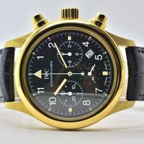 IWC IW3741 Yellow gold Pilot Chronograph 36mm pre-owned