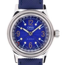 Oris Big Crown Pointer Date Acero 36mm Azul Arábigos España, Marratxí