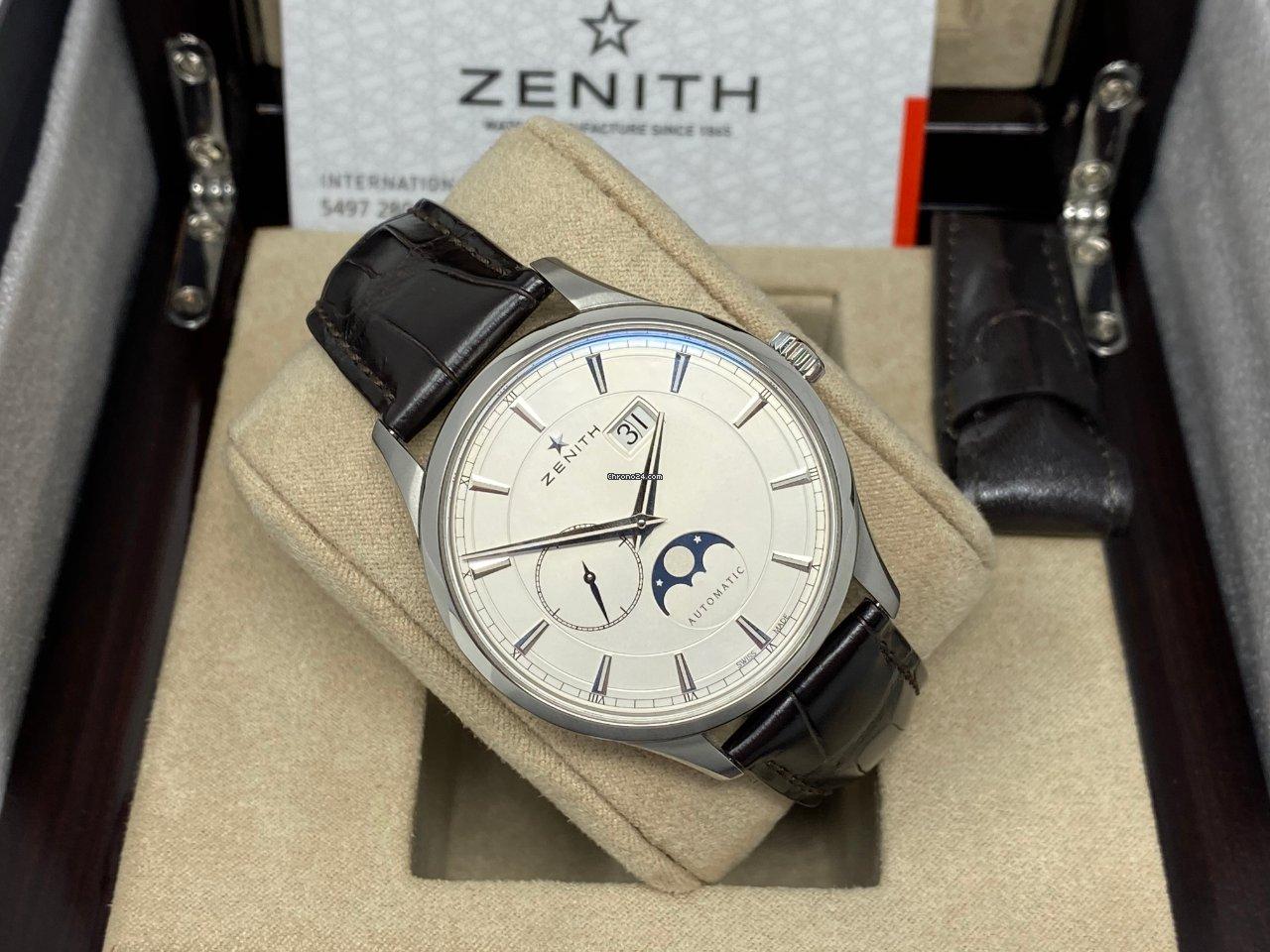 Zenith Captain Moonphase 03.2143.691/01.C498 2021 nuevo